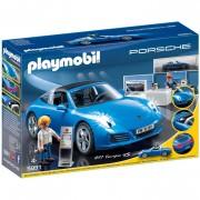 Playmobil Porsche 911 Targa 4S with Lights and Showroom (5991)