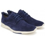 Clarks Tynamo Walk Blue Suede Casual For Men(Blue)