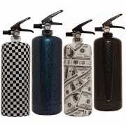 Nordic Fire Designs Brandsläckare i snygg design, 2kg (Produkt: Carbon Black)