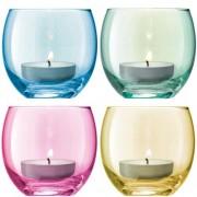 LSA International Teelichthalter aus Glas LSA International Farbe: Pastellfarben