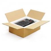 RAJAPACK Braune Wellpapp-Faltkartons RAJABOX, 2-wellig, Länge bis 400 mm