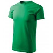 ADLER Basic Unisex triko 12916 středně zelená S