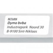 ORIGINAL DYMO Etichette S0722520 11352 etichette bianche, 54x25mm, 500 pezzi