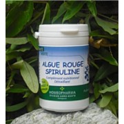 Spiruline et Algue Rouge 80 gelules