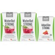 SlimJOY Pack Quick Slim! para desintoxicação e queima de gordura abdominal. 20 saquetas de WaterOUT Strong + 30 cápsulas de AdipoSlim Strong, para 30 dias