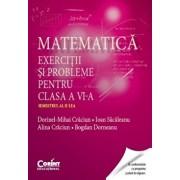 Matematica. Exercitii si probleme pentru clasa a VI-a. Semestrul al II-lea/Dorinel-Mihai Craciun, Ioan Sacaleanu, Alina Craciun, Bogdan Dorneanu