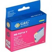 EPSON STYLUS ( T0714 ) D78/DX4000/DX4050/DX500DX5050/DX6000/DX6050 - Yellow - NE-T0714Y