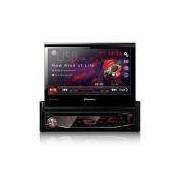 DVD Player Avh-3880Dvd Sete Polegadas 1Din Entrada USB Am Fm Retrátil