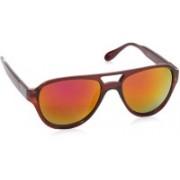 Flying Machine Wayfarer Sunglasses(Pink, Orange)