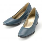 ドルチェ牛革プレーンウェッジパンプス【QVC】40代・50代レディースファッション
