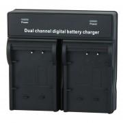 Cargador De Batería De 4.2V Dual Channel Digital Para Sony NP- BX1