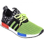 Shoebook Mens Light Green Lace Up Casual Shoes