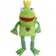 HABA Hand Puppet Frog King 26 cm 300490