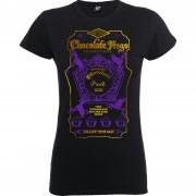 Harry Potter Camiseta Harry Potter Ranas de Chocolate - Mujer - Negro/morado - XL - Negro