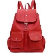 AL NOONE STAR backpacks For Collage Girls Waterproof Bags (Red) 25 L Backpack(Red)