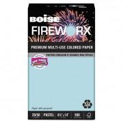 Fireworx Colored Paper, 20lb, 8-1/2 X 14, Bottle Rocket Blue, 500 Sheets/ream