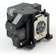 Replacement Projector lamp ELPLP67 V13H010L67 with Housing for Epson EB S12 EB W12 EX3210 EX5210