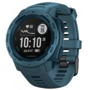 Ceas activity tracker Garmin Instinct, GPS, Rezistent la apa, Bluetooth (Albastru)
