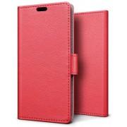 Knaldeals.com - Xiaomi Mi A2 hoesje - Book Wallet Case - rood