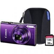 Canon Digital Camera IXUS 285 HS 20.2 Megapixel Purple