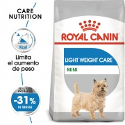 8kg Mini Light Weight Care Royal Canin pienso para perros