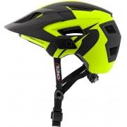 Oneal Defender 2.0 Silver Casco de bicicleta Negro Amarillo L XL
