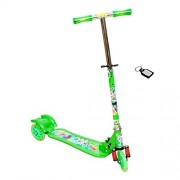 Wheel Power Ultra Wheels Baby Scooter Green with Key Chain
