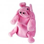 Papusa de mana Purcel, roz