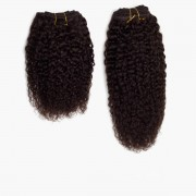 Rapunzel® Extensions Naturali Hair Weft Coily Curl 2.3 Chocolate Brown 25 cm