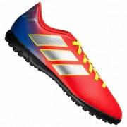 adidas Nemeziz Messi 18.4 TF Kinderen Turf voetbalschoenen CM8642 - rood - Size: 38 2/3