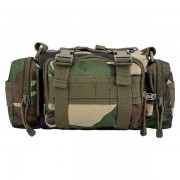 MFH Hip Bag Combat woodland