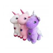 Jucarie de plus unicorn 29 cm