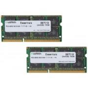 Mushkin 16GB (2 x 8 GB) DDR3 Essentials 1066MHz SO-DIMM