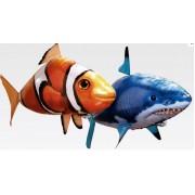 Игрушка Инструктаж по сборке Air Swimmers летающая рыба Акула Shark или Клоун Clownfish