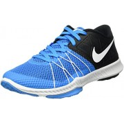 NIKE MEN'S ZOOM TRAIN INCREDIBLY FAST BLUE GLOW / WHITE SIZE 7 UK