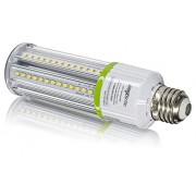 12W LED Corn Light Bulb 5000K Replaces 100W, 1,320 lumens Medium Base E26, 100-277V AC UL/cUL Certified