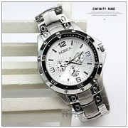 TRUE CHOICE New Stylish Trendy Rosra Stainless Steel Watch By 7star FOR MEN
