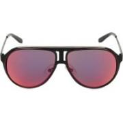 Carrera Oval Sunglasses(Red)