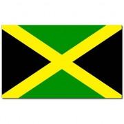 Merkloos Gevelvlag/vlaggenmast vlag Jamaica 90 x 150 cm