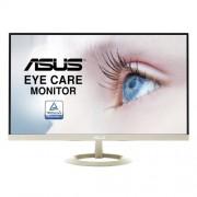 "ASUS VZ27AQ 27"" Wide Quad HD LED Matt Flat Black, Gold computer monitor"
