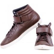 Puma Modern Court Hi Citi Series Casual Shoes For Men(Brown)