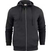 Printer Hooded Sweat Vest Overhead Man 2262051 Zwart - Maat XXL