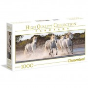 Clementon puzzle 1000 high quality collection panorama running horses 39441