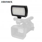 ASHANKS Foto Verlichting Led-lampen op Camera Fotografia LED Video Lamp voor Camcorder DSLR Bruiloft Fotografie Verlichting