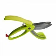 Ножица за салата ZEPHYR ZP 1642 S, Мека дръжка, Неръждаема стомана