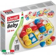 Puzzle Fantacolor Baby basic Quercetti, 24 piese, 18 luni+