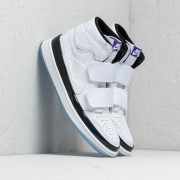 Air Jordan 1 Retro High Double Strap White/ Dark Concord-Black