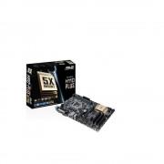 Placa de baza Asus Socket LGA1151, H110-PLUS, Intel H110, 2*DDR4 2400/2133 MHz, 1*PCIe 3.0/2.0 x16, 2*PCIe 3.0/2.0 x1, 3*PCI, 4*SATA 6Gb/s, 6*USB