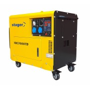 Stager YDE7000TD Generator insonorizat diesel monofazat 4.2kVA, 18A, 3000rpm