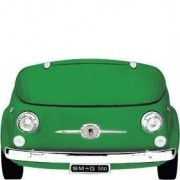"Smeg 50's Style Retro Official ""Fiat 500 Design"" Collectors Edition Cooler - Green"